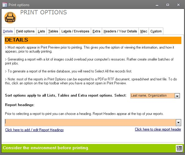 Click the image for a view of: Improved print options