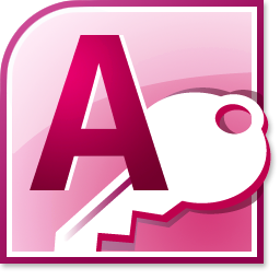 Click the image for a view of: Access 2010 icon